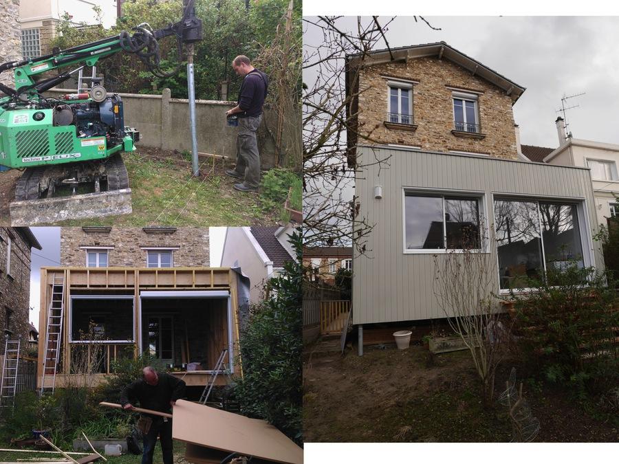 Biotope habitat r f rences for Agrandissement maison ossature metallique
